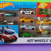оригинал Hot wheels набор из 9 базовых машинок