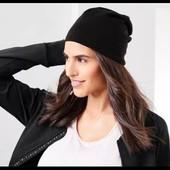 ☘ Двусторонняя серо-черная хлопковая шапочка от Tchibo( Германия), размер универсальный