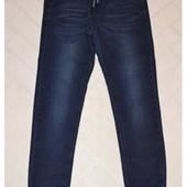 Джинсовые брюки джогеры для мальчиков .размеры 110-134 см.фирма Taurus.Венгрия
