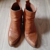 Кожаные ботинки, 39 размер