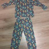 Пижамка Rebel с динозаврами для мальчика 5-6 лет