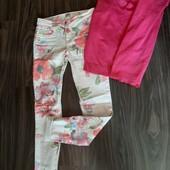 Крутые летние джинсы штаны Only 14-16 л , р XS в прекраснос сост .Подарки