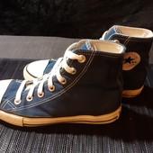 Синие кеды Converse , разм. 36 (22,5 см по бирке). Сост. очень хорошее!