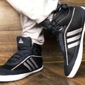 Мужские кроссовки Adidas-Индонезия из натуральной кожи+ сетка. Последние! 43(28):45(29.5)