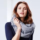 Лот 2 шт!!!Легкий шарф/снуд от ТСМ Tchibo, размер универсальный