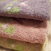 Махровий рушник для рук з вишивкою, 33х71, лот 1 штука