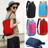 Удобный рюкзак для взрослых и детей, цвет розовый или голубой