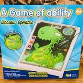 Электронная, настольная игра. Вылечи динозавра