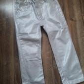 Серебристые джинсы для маленькой модницы (1,5 - 2 года)