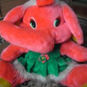 Большая мягкая игрушка Слон
