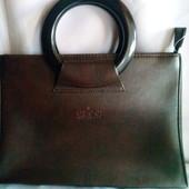 """Нова. ( елітний сток ) Бренд Gucci шкір""""яна сумка - Італіія."""