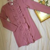 Супер стильні елегантні вишукані плаття волани Кольори розміра 146-164 Дорослі XS S
