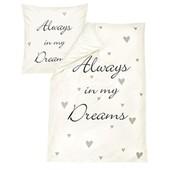 Роскошный постельный комплект 100% нежный edel-Linon Always in my dream Dormia Германия