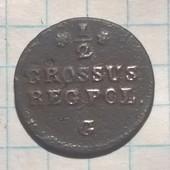 Польша 1/2 гроша 1767