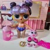 Мега лот♥♥♥Редкая♥♥♥!серия hairgoals mgа lоl куколка Daring Diva+одежда+аксы!Меняет цвет