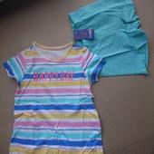 Lupilu шорты +футболка 98-104