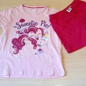Літній костюм для дівчинки, розмір 86/92, бренд my little pony, германія