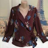 Блуза на запах Zara, размер L.