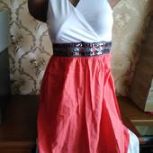 Красивое женское летнее платье. Размер ХL (44-46).