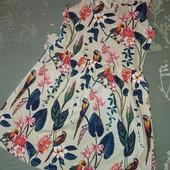Новый,необычный,яркий сарафан-платье H&M, по бирке 8-10лет,рост 134-140см!