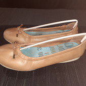 Полностью кожаные балетки Palladium, разм. 38 (23,5 см внутри). Сост. очень хорошее!