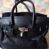 Дорогая кожанная, брендовая сумка