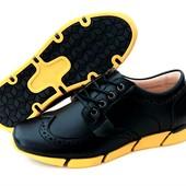 Стильные туфли броги B&G 32, 33, 34, 35, 36, 37 размеры