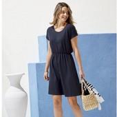Милое симпатичное платье пастельный темно синий цвет Esmara Германия евро 36\38 S нюанс