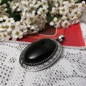 Кулон с натуральным камнем Агат. Единственный