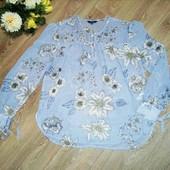 Модная блуза, р.46-48-50, состояние новой