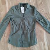 Рубашка блузка jennyfer Франция размер s смотрите замеры