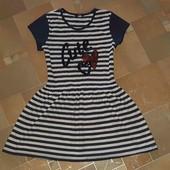 Стильное платье на рост 152-158  см