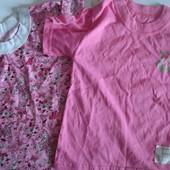 футболка для девочка Лот - штуки