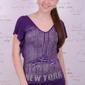 футболка женская,Турция, 44-48 р универсал, отлично тянется! вискоза 90%,10% эластан
