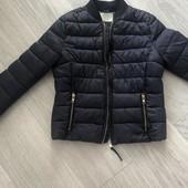 Демисезонная фирменная куртка Bershka, S