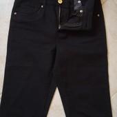 Штанишки женские черные H&M в идеале+ размер 36
