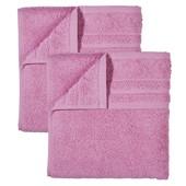 2 махровых полотенца, Miomare® 30 х 50 см