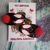 Милые зайки или бантики ,украшаем хвостики)))!