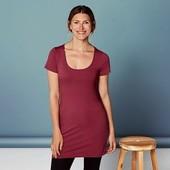 Удлиненная футболка от Esmara Германия размер указан нем 40 42 смотрите замеры