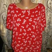Яркая блуза с цветочным принтом george