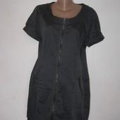 Стильное платье на молнии хлопок от Soyaconcept XL размер