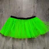 Фатиновая юбка двухслойная