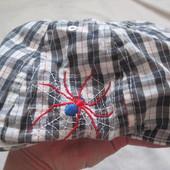 Прикольная кепка для мальчика, хлопок, на 1-3 года в отличном состоянии