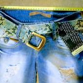 Новые турецкие джинсовые шорты, р. 25, S, поб 44 см, пот 33 см