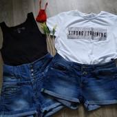 Классные джинсовые шорты,одни на выбор!!!