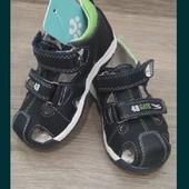 Кожаные сандалии. По стельке 14-14,5 см