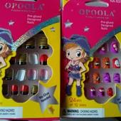 Два набора накладных ногтей для маленьких модниц!!! Порадуйте свою принцессу!