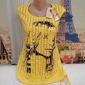 Новая футболка с регулируемым низом, производитель Турция, размер М.