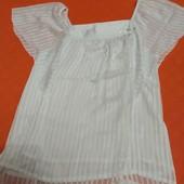 Шикарная шифоновая блузка, размер M