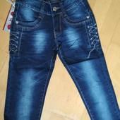 Отличные фирменные качественные джинсы L&D для девочек, 22, 23 рр, смотрите замеры!
